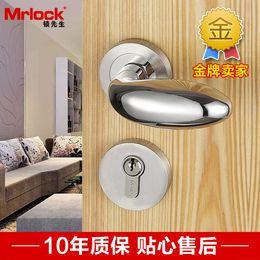 Wholesale Germany Mrlock stainless steel interior door room door locks bedroom Nick adaptation TATA doors