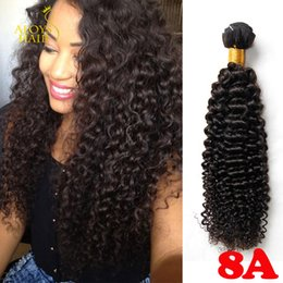 Wholesale Unprocessed A Brazilian Curly Virgin Hair Peruvian Malaysian Indian Cambodian Mongolian Deep Curly Wave Human Hair Weaves Bundles Soft Full