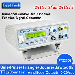 Wholesale FY2200S Mhz mhz mhz mhz mhz mhz mhz mhz DDS NC dual channel function signal generator