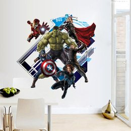 3D Cartoon Wall Stickers Movie Characters Kids Room Decal