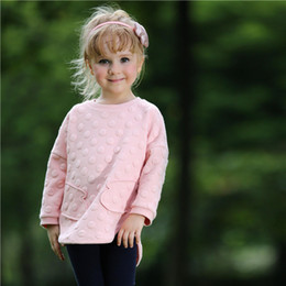 Pettigirl Retail New Arrival kids Clothing Set With Dot Top And Long Pants Children Pink Outfits For Autumn Girls Clothes CS80727-4F