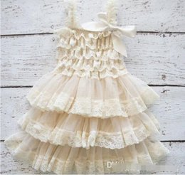 Baby girl infant toddler lace dress princess flower floral tutu dress zig zag strap cake jumper satin bowknot ball gown cute