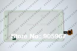Mtk6577 táctil en Línea-Al por mayor-Nueva original del digitizador de vidrio del panel de pantalla táctil capacitiva para el teléfono celular de la estrella Nota 2 N9776 MTK6577 U89 Blanco / Negro