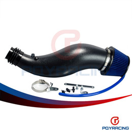 Wholesale PQY STORE PLASTIC AIR INTAKE PIPE FOR HONDA CIVIC EK EG WITH AIR FILTER INTAKE PIPE ONLY BLACK PQY AIT11BKN