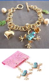 Wholesale Betsey Johnson frog series bracelet and earrings