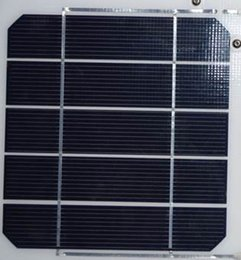Wholesale 156mm mm w monocrystalline solar cell cut with high efficiency