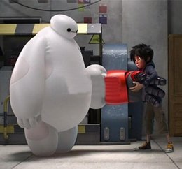 Wholesale 2015 new hot sale Air Inflation Big Hero Baymax Big Hero Mascot Cosume with Same as the Movie
