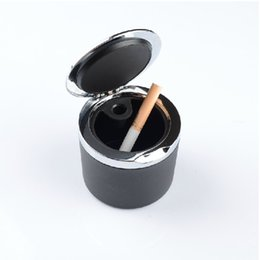 Wholesale Stainless Steel Peugeot Car Ashtrays Portable Vehicle Ashtray Car Ashtray Holder for Peugeot