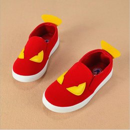 spring autumn children shoes girls boys shoes little monster design kids canvas shoes child boys sneakers wholesale