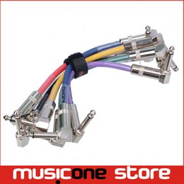 Wholesale JOYO CM Colorful Connection Cables for Guitar Bass Pedal Guitar Pedal Cables Frees shipping MU0092