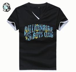 Wholesale Plus size XL t shirt t shirt USA and UK hip hop men bbc clothing brand billionaire boys club full cotton t shirt