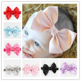 Ribbon ribbon bow headband headdress Children hair accessories new baby super high-quality European and American Hot