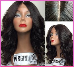 Wholesale 2015 new Beutitful body wave africa american peruvian virgin hair glueless full lace wigs with bangs can be dyed