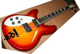 Wholesale -cheap 360 Right and left hand 12 string Electric Guitar in cherry sunburst Free shipping