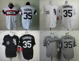 Wholesale chicago white sox frank thomas Baseball Jersey Cheap Rugby Jerseys Authentic Stitched Size