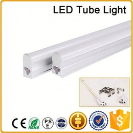 CE RoHS FCC 300mm T5 LED tube light high super bright 4W Warm nature cold white LED Fluorescent Bulbs AC85-265V integration tube
