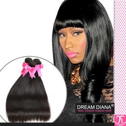 Eayon Hair Brazilian Straight Hair Bundles 4 Natrual Color #1 1B New Star Virgin Brazilian Hair Coarse Yaki Virgin Hair Fast Shipping