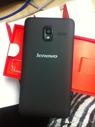 Wholesale Lenovo A850 A850 Octa Core Smartphones Cell phones quot MTK6592M Android G G Dual sim Dual standby Mobile phone Ghz mp Webcam