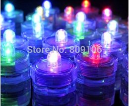Wholesale Waterproof LED candle light aquarium light coffee bar coffee hall candles birthday party wedding waterproof candle