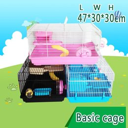 Wholesale 2015 New multicolor pet gaiola hamster cage Travel carry hamster cages