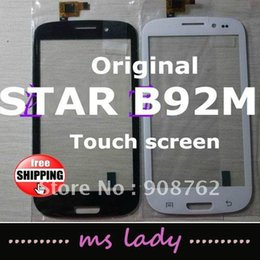Wholesale STAR B92M B92 touch screen new for replacement touch panel glass airmail tracking code