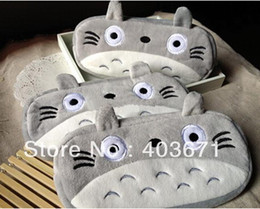18%OFF SALE 14 Pieces   Lot Children's stationery ,New cute totoro style plush Pencil bag   pen case & Cosmetic bag   pouch   Wholesale