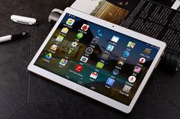 Acheter en ligne Quad lcd-9.6 pouces quad tablette tactile 1G + 16G mémoire 1280 * 800 IPS HD écran LCD double appareil MTK6582 Tablet PC
