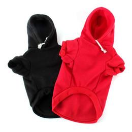 Купить Онлайн Большие костюмы для собак-Малый Pet Собаки Одежда Щенок Кошка Hoodie Coat Теплая одежда Костюм XS-XXXL Большой