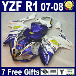 Wholesale Hot sale body kit for YAMAHA R1 Fairing Injection molding ABS yzf R1 fairings kits motorcycle parts L71S
