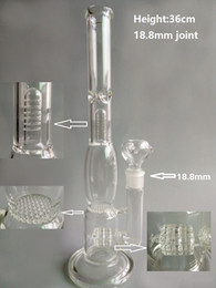 Wholesale 2015 Percolator Bongs Water Glass Tube And Tire Style And Cellular Glass Diffusion Filter Neycomb To Tree Perc Water Pipe With mm