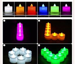 Velas de cumpleaños barcos en Línea-velas LED decoraciones de Navidad LED de la boda de la fiesta de cumpleaños Día Portacandelitas té luz de la vela de San Valentín de la batería del envío libre 0001CHR