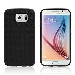 Wholesale 1pcs Official TPU Honeycomb Case for Samsung Galaxy S6 Protective Back Cover Cell Phone Cases Colors