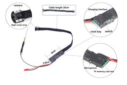 Wholesale 2016 New HD P MP Spy WIFI Camera Hidden Cam Mini DVR Security Camcorder mAh Video Recording Remote Control Super Night Vision