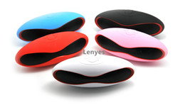 Wholesale Hot styles X6U small wireless Bluetooth stereo mini mini rugby football card type U disk portable gift speaker stereo radio