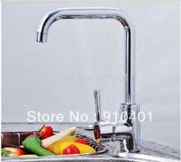 Wholesale Hot Sale And Retail Promotion NEW Single Handle Swivel Spout Kitchen Sink Bar Faucet Vessel Mixer Tap Chrome