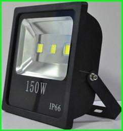 Wholesale Al aire libre de iluminación de inundación mayorista W W W W W W delgado llevado luces de inundación de estacionamiento Lámparas LED de pared impermeable AC85 V