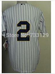 30 Teams- Cheap Derek Jeter Jersey, Fashion Gold White Pinstripe Grey Stitched Cool Base New York Jerseys