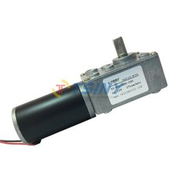 Wholesale Electric Vdc Reversible rpm DC Worm Geared Motor With Gear Reducer Motor with Self locking