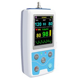 Wholesale DHL CONTEC ABPM SpO2 Ambulatory Blood Pressure Monitor Automatic h BP measurement PM50 Blood Pressure Holter Monitor PM50