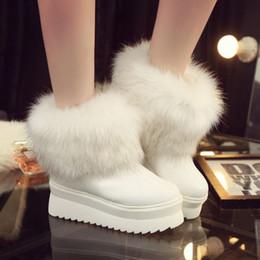 2015 new large fox fur boots fur boots women winter boots trend