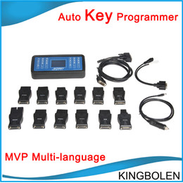 Wholesale 100 good quality super MVP key programmer tool V14 Auto key copy tool Two years quality