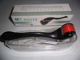 Wholesale MT Derma roller with Micro Needles Skin Roller Dermatology Therapy Microneedle skin Dermaroller Various Size