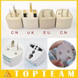 Wholesale Hotsale UK CN EU AU To Universial Travel Plug Convertor Universal Travel Power Adapter Plug For UK EU AU CN Plug