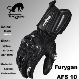 Wholesale Super affordable Furygan afs10 motorcycle Riding gloves road racing gloves cycling glove leather gloves color