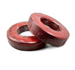 Wholesale new arrival meters red black wire GA gauge conductor cable power cord monitor audio