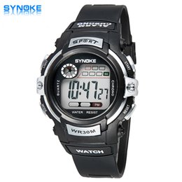 Wholesale SYNOKE Best Watch Brands For Women Synoke Authentic Sports And Leisure One Neutral Wild Candy Colored Male Female Raw Water Table Aneis