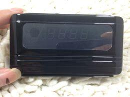 Reloj de escritorio de la cámara del registrador del reloj de la venta caliente HD 720P Reloj de escritorio ocultado DVR de la cámara del despertador DV mini con la leva 10pcs / lot del reloj de la detección del movimiento desde cámara espía venta caliente fabricantes