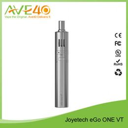 Wholesale Hot Products Joyetech eGo ONE VT Full Kit ego kit mAh Large Capacity ml Atomizer Capacity Silver Black