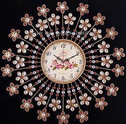 Wholesale Needlework Diy Diamond Painting Diamond Embroidery Cross Stitch Kit Needle Art Wall Sticker Clock Decor Resin Square inlay