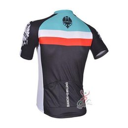 Wholesale new kind bianchi cycling jersey cycling wear with short sleeve biking shirt and bib pants